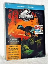 Jurassic Park Complete Collection (Bluray, 2019, 5-Disc Steelbook) World sci-fi