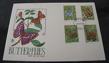 First Day Cover of Butterflies 13th May 1981