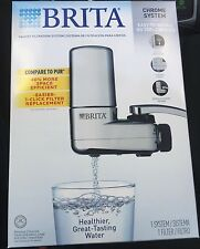 BRITA On Tap Faucet Filtration System in Chrome - NEW