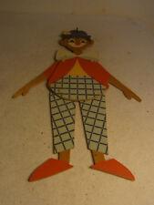 Vintage German Mertens Fretwork Folk Art Jumping Jack Clown #BG4