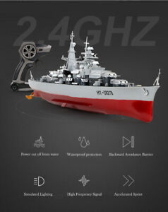 Remote Control Aircraft RC Carrier Boat Battleship ship warship model toy kit