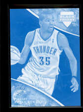 KEVIN DURANT 2013 PANINI BLACK FRIDAY CYAN MAKE READY SP /5 AB7294