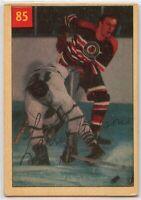 1954-55 Parkhurst Hockey #85 Larry Wilson AHL HOF VG Condition (2020-13)