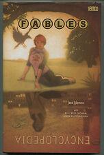 Fables Encyclopedia -Hardcover- Vertigo/DC  2013 (DJacket VF/Book NM)