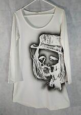 Limi Feu Yohji Yamamoto Portrait LS T Shirt Dress Size Small