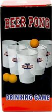 BEER PONG DRINKING GAME SET - INCLUDES 12 CUPS AND 3 BALLS BEER PONG SET