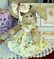 "GRETCHEN 14""  Bearington Bear Bunny $34.99 NEW 2014 Collectible w/tags #420101"