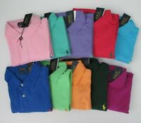 NWT Ralph Lauren Mens SS Custom Slim Fit Mesh Polo Shirt Sz XXL 2XL NEW $85