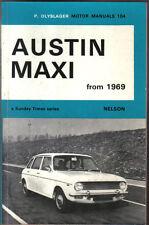 AUSTIN MAXI dal 1969 MOTORE MANUALE PUB. da P olyslager nel 1971