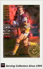 1995 Dynamic Rugby League Series 1 Winners Circle Card WC3:Allan Langer