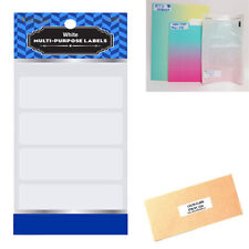 1280 Blank Stickers White Labels 2 34 X 1 Self Adhesive Craft Tag Personalize