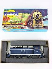 ATHEARN 4009 Baltimore & Ohio SW/7 & Cow Calf Diesel Switcher & Locomotive B&O