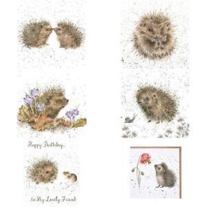 Wrendale Card Hedgehog