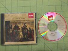 CD: Turina OBRAS PARA PIANO Alicia de Larrocha EMI 1992