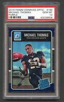 2016 Don Russ Optic Michael Thomas Rated Rookie Purple RC #186 💎 PSA 10 RARE