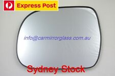 LEFT PASSENGER SIDE TOYOTA HILUX 2005 - 2015 MIRROR GLASS WITH BASE
