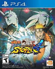 Naruto Shippuden Ultimate Ninja Storm 4 PS4 Brand New Factory Sealed