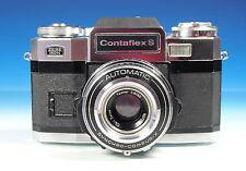 Zeiss Ikon Contaflex S mit Tessar 2.8/50 Kamera vintage camera appareil - 101208