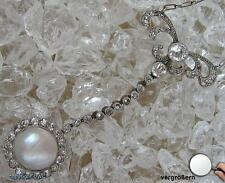 Antike Colliers Kette Collier mit Diamanten Diamant Antik Jugendstil
