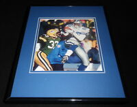 Michael Irvin Framed 11x14 Photo Display Cowboys vs Packers