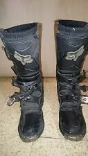 Fox Racing Black Comp Offroad Dirt-Bike Boots US 6,5 EU 39