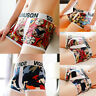Men's Comfy Breathable Underwear Boxer Briefs Shorts Bulge Pouch Underpants