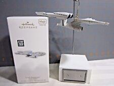 """2010 Hallmark QXI2156 """"U.S.S. Enterprise"""" Ornament"""