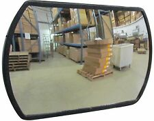 """#1 Industrial Rated 20"""" x 30"""" Rectangular Acrylic Convex Mirror Made in the USA"""