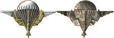 TCHAD, Brevet de Parachutiste, dos guilloché embouti, 2 anneaux, Drago (9144)