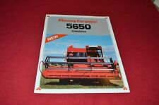 Massey Ferguson 5650 Combine Dealers Brochure LCOH
