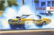 Hurst Hairy Oldsmobile... Drag Racing Art Print