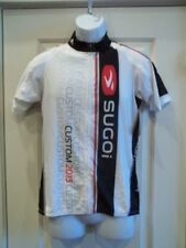 New Sugoi Womens RS Jersey Large White/Black/Red Cycling