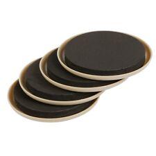 4 Furniture Sliders For Carpet, Reusable Heavy Furniture Sliders Diameter 89 mm