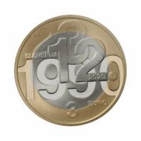 """Slovenia 3 Euro commemorative coin 2020 - """"Referendum"""" - UNC **NEW**"""