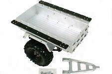 Amewi AMXrock CNC Aluminium Trailer Anhänger Blattfederung Scale 1:10 Scaler