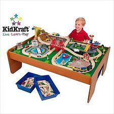 Kidkraft Ride Around Town Train Set With Table 17836  sc 1 st  eBay & Kidkraft Thomas the Tank Engine Train Sets | eBay