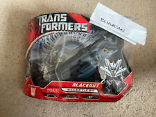 Transformers 2007 Movie Voyager Class Blackout New