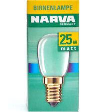 10 Stück E14 Kühlschranklampen matt 25W Glühlampe