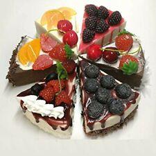 Fake food Whole fruits cake 6set Japanese Food sample High quality