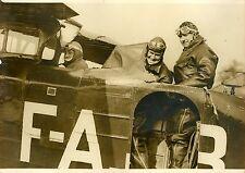 """""""COSTES, Jean SCHNEIDER, Henri VERON 1932"""" Photo originale G. DEVRED (Agce ROL)"""