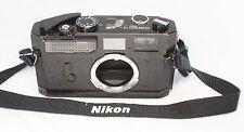 Very good++ Canon Model 7 rangefinder Film Camera Black Leica screw mount