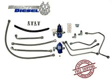 Sinister Diesel Regulated Fuel Return Kit 03-07 Ford Super Duty 6.0 Powerstroke