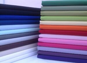 10 Jelly Roll Fabric Strips 100% Plain Cotton 2.5 or 5 inch wide Quilting, UK