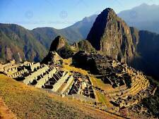 MACHU PICCHU PERU MOUNTAIN PHOTO ART PRINT POSTER PICTURE BMP211B
