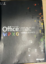 Microsoft Office for Mac 2011 Home and Business 2 Mac Version W9F-00014 DVD