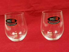 Lot of 2 Riedel Grape Varietal Specific Viognier / Chardonnay Wine Tumbler