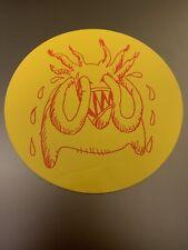 """Radiohead Sticker """"Amnesiac"""" 2001 Album Release Ex"""