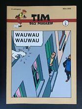 RARE SELTEN Revue Allemande Tim Das Magazin N° 5 Tintin 2003 500 ex Neuwertig
