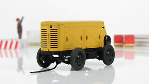Exclusive! Compressor ZIF-55 yellow 1970 handmade 1:43