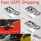 1/10 RC Touring Racing Drift On Road Car Wing Side Mirror With LED Unit Set